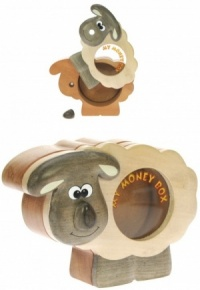 500MBS: Sheep Money Box (Hidden Lock)  (Pack Size 6) Price Breaks Available