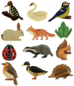 Magnets - Wildlife  (Pack Size 48)