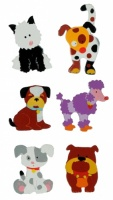 5043DG : Dog Magnets  (Pack Size 36) Price Breaks Available