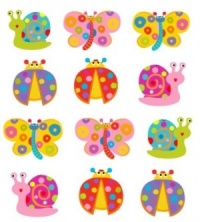 5043BF : Butterfly Ladybird Magnets  (Pack Size 36) Price Breaks Available