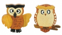 5043S-Owl: Owl Magnets (Pack Size 36) Price Breaks Available