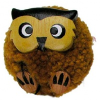 5043P-Owl : Owl Pom Pom Magnets (Pack Size 36) Price Breaks Available
