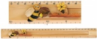 Ruler (Sliding Character Measure) - Bee  (Pack Size 25)