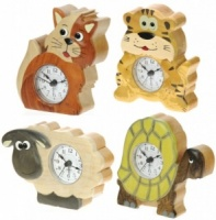 Alarm Clocks - Mix Set  6+ Designs (Pack Size 12)