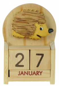 5209-HH: Hedgehog Calendars (Pack Size 12) Price Breaks Available