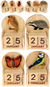 Calendars - Wildlife - Mix Set  (Pack Size 20)