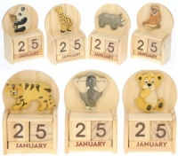 5209Z: Safari/ Zoo Calendars (Pack Size 24) Price Breaks Available