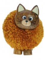 Pom Pom Figurine - Cat  (Pack Size 20)