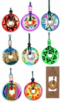 9001: Necklaces - Ceramic Pendant (Pack Size 50)
