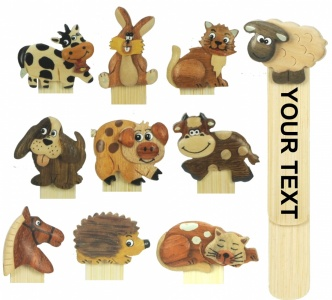 5007 : Animal Bookmarks (Pack Size 36) Price Breaks Available