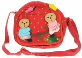 Shoulder Kids Bag - Teddy  (Pack Size 5)
