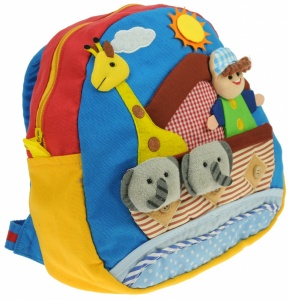 Boy Ark & Animals - Toddlers Rucksacks (Pack Size 5)