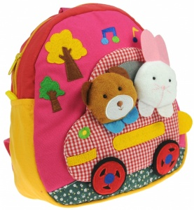 Car - Toddler Rucksacks (Pack Size 5)