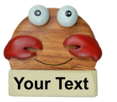 5043S-CRB Crab Magnets - Your Text (Pack Size 36) Price Breaks Available