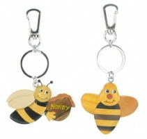 Keyrings - Bee  (Pack Size 50)