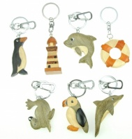 Keyrings - Nautical & Sealife  (Pack 60)