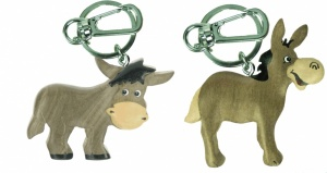5001-DKY : Keyrings -  Donkeys  (Pack Size 60)