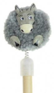 (AVAILABLE AUGUST) Pencils Pom Pom - Donkeys  (Pack Size 48)