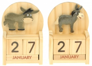 Calendars - Donkey  (Pack Size 24)