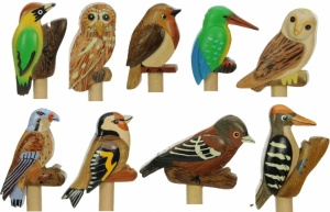 5004GB: Garden Bird Pencils (Pack Size 36) Price Breaks Available