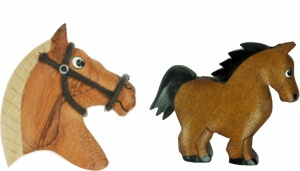 5043S-HS : Horse Magnets  (Pack Size 36) Price Breaks Available