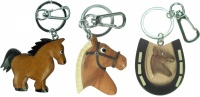 Keyrings - Horse  (Pack Size 60)