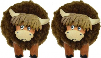 5501M-HC Mini Highland Cow Figurine (Pack Size 36) Price Breaks Available
