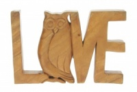 YP04 - Hand carved Love (Pack Size 4)