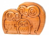 PU36 - SPECIAL - Owl Family Puzzle - No Box (Pack Size 5)