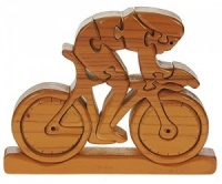 PU37: Bicycle 3-D Wooden Puzzle (Pack Size 5) Price Breaks Available