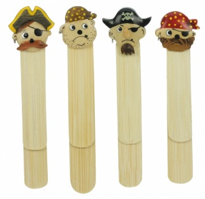 5007-PR : Pirate Bookmarks (Pack Size 36) Price Breaks Available
