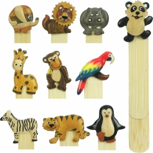 5007Z : Safari Bookmarks (Pack Size 36) Price Breaks Available