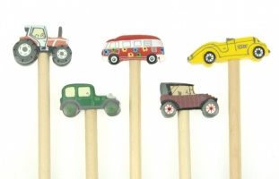 Pencils - 3-D Transport  (Pack Size 100) - (25% OFF)