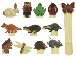 Bookmarks - Wildlife  (Pack Size 54)