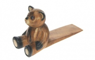 YO28: Teddy Bear Carved Doorstops (Pack Size 6)