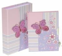 Boxed Notebooks - Butterfly  (Pack Size 12)