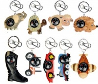 Keyrings - Compass  (Pack Size 60) - (25% OFF)