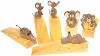 Doorstops - Mice - Mix Sets  (Pack Size 25)