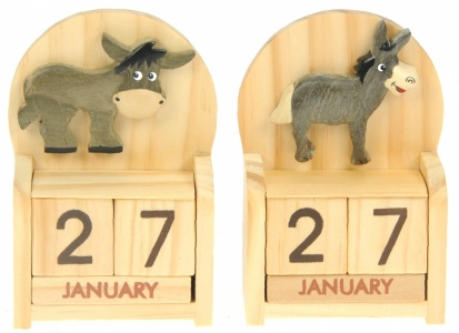 5209-DKY : Calendars - Donkey  (Pack Size 24)