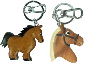 5001HS: Horse Keyrings (Pack Size 36) Price Breaks Available