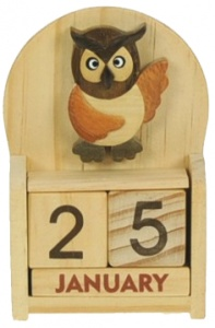 5209-OW: Owl Calendars (Pack Size 12) Price Breaks Available