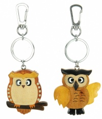 Keyrings - Owl  (Pack Size 36)