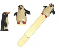 5007-PN : Penguin Bookmarks (Pack Size 36) Price Breaks Available