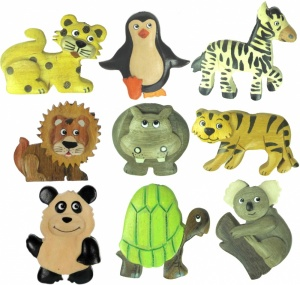 5043Z : Safari Magnets (Pack Size 36) Price Breaks Available