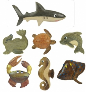 5043-SL : Sealife Magnets (Pack Size 36) Price Breaks Available